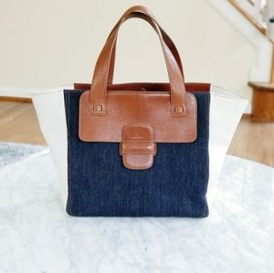 Marc Jacobs Denim Paneled Tote Bag Retails $1000